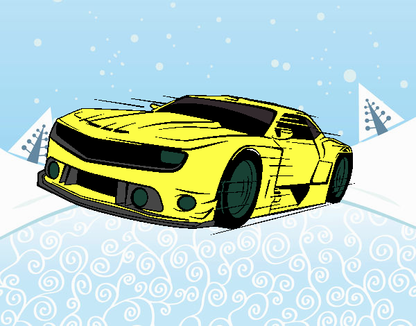 Dibujo Coche deportivo rápido pintado por Xxkenny3xx