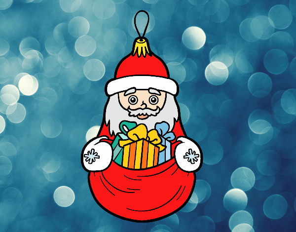 Decoración de Navidad Santa Claus