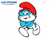El Papá Pitufo