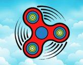 Dibujo Fidget spinner pintado por javier2903