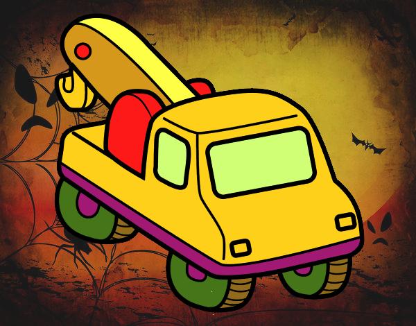 Grúa de vehículos