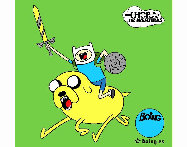 Jake y Finn al ataque