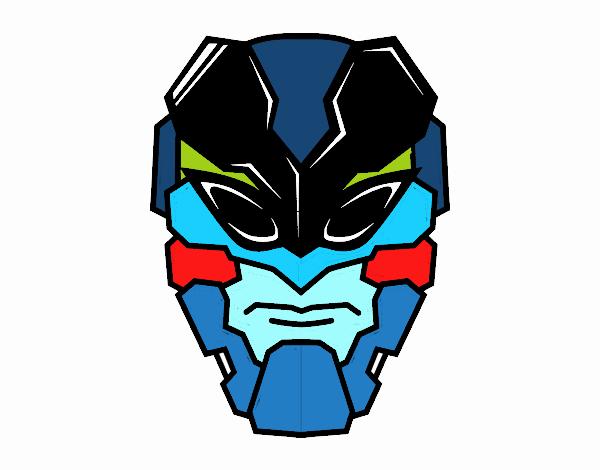 Máscara de hombre abeja
