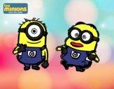 Minions - Carl y Dave