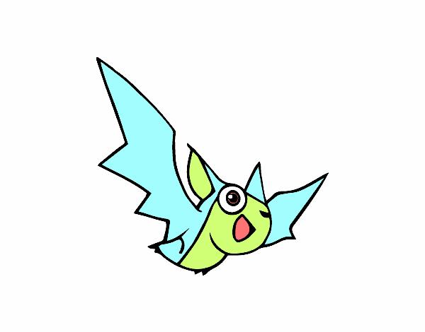 Dibujo Murciélago pintado por lucia23432