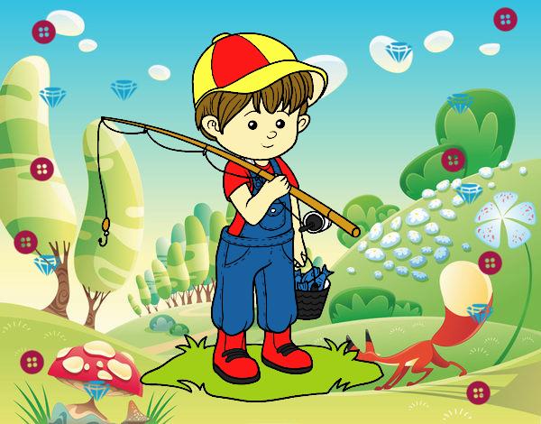Niño pescador