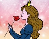 Princesa y rosa
