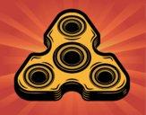 Spinner triangular