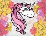 Dibujo Un unicornio pintado por superchic