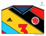 Camiseta del mundial de fútbol 2014 de Colombia