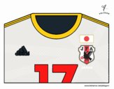 Camiseta del mundial de fútbol 2014 de Japón