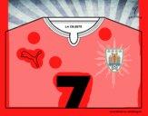 Camiseta del mundial de fútbol 2014 de Uruguay