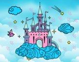 Dibujo Castillo en las nubes pintado por soreliz