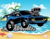 Deportivo muscle car