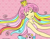 Dibujo Dulce princesa pintado por adrinette1
