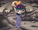 Dibujo Estatua de la libertad manga pintado por sheyla13
