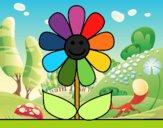 Dibujo Flor de primavera pintado por xXPucchiXx