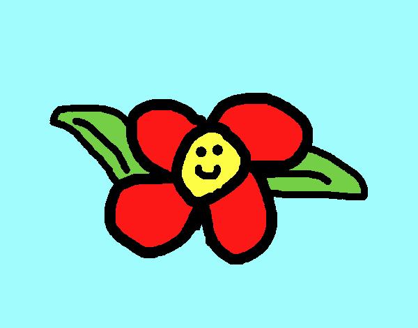 Dibujo Florecita pintado por xXPucchiXx