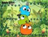 Las crias de Angry Birds
