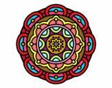 Mandala para la relajación mental
