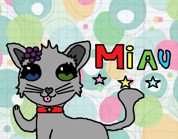 Dibujo Miau pintado por xXPucchiXx