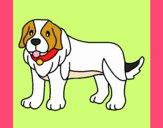 Dibujo Perro pigmento pintado por xXPucchiXx