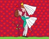 Dibujo Puedes besar a la novia pintado por asdfghjklz