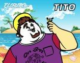 Dibujo Turbo - Tito pintado por calorezjc