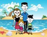 Una familia feliz