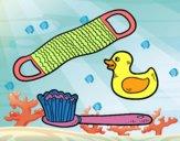 Utensilios de ducha