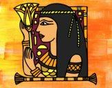 Dibujo Cleopatra pintado por Marlina