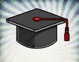 Dibujo Birrete de graduación pintado por Saritita