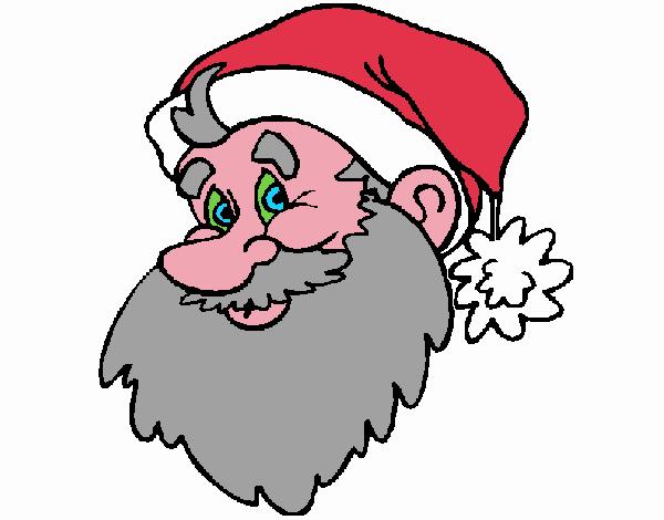 Cara Papa Noel