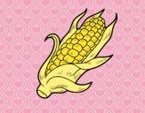 Dibujo Una mazorca de maíz pintado por Saritita