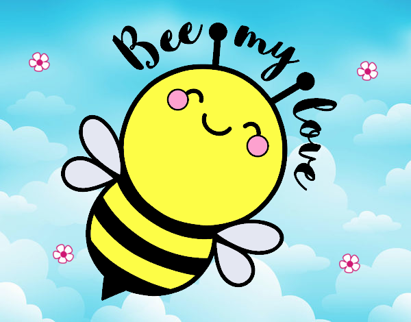 Dibujo Bee my love pintado por tigresalva