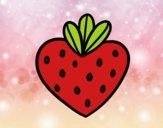 Fresa corazón