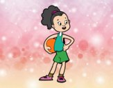 Jugadora de baloncesto