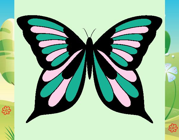 Dibujo Mariposa 19 pintado por MariamAmin