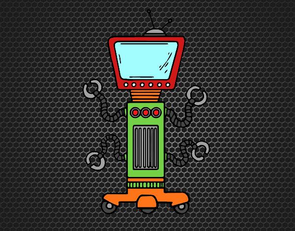 Robot mecánico