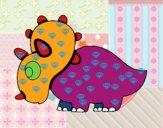 Triceratop feliz