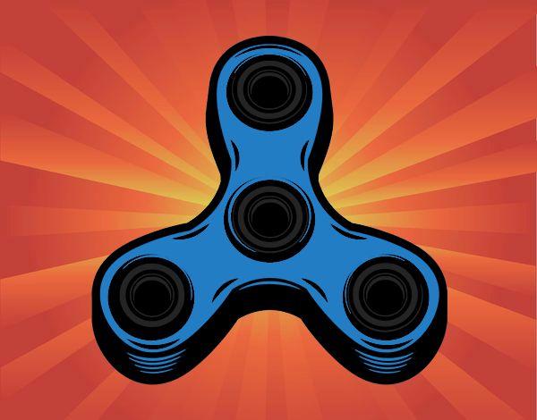 mi spinner azul