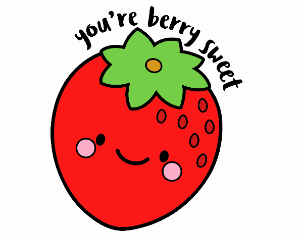 Dibujo You're berry sweet pintado por tigresalva
