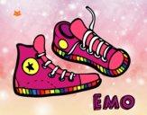 Dibujo Zapatillas pintado por Davinchi