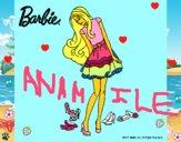 Barbie y su colección de zapatos