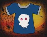 Dibujo Camiseta emo pintado por dipperdibu