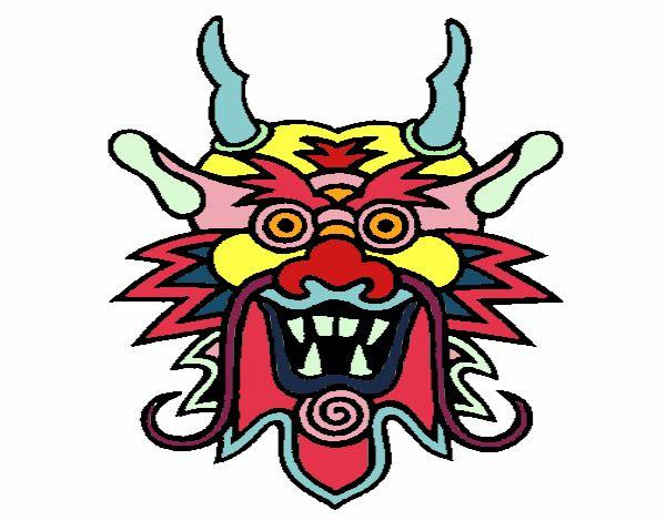 Cara de dragón