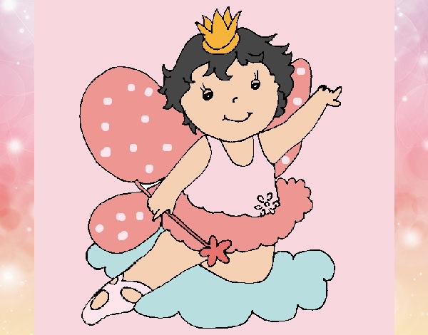 una  bailarina  magica