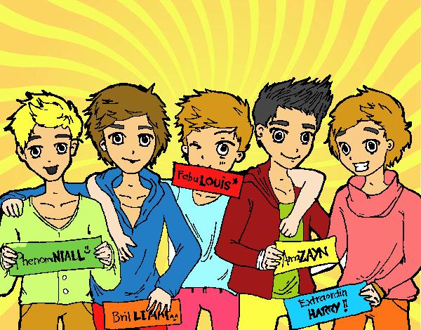 Los chicos de One Direction