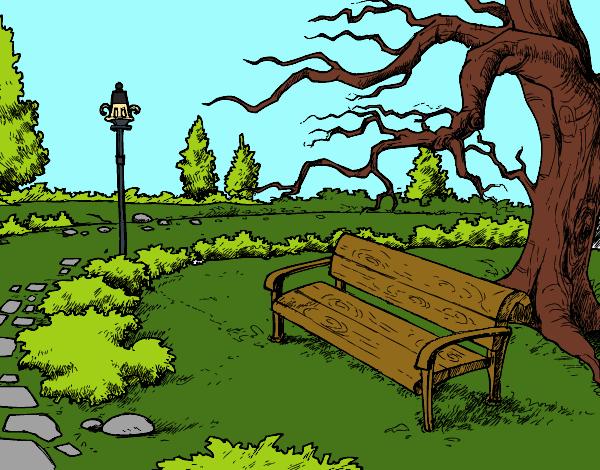 Paisaje de parque