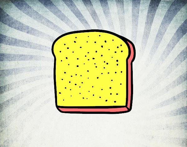 Una rebanada de pan
